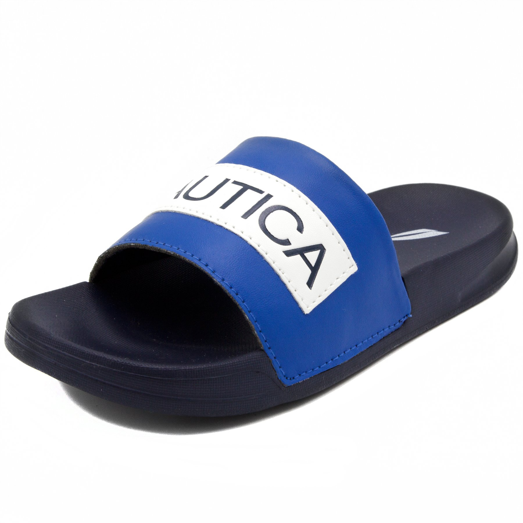Nautica Kids Slip-On Sandal Athletic Slide-Altair-Lapis Blue-1