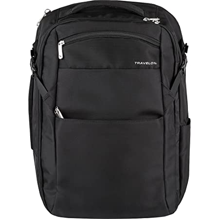 Travelon Anti-Theft Travel Backpack Black