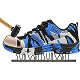 SITAILE Zapatos de Seguridad para Hombre Calzado de Trabajo con Punta de Acero Zapatillas Botas de