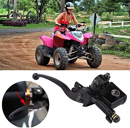 Vobor 7 8 22mm Linker Vorderer Bremskupplungshebel Linker Bremshebel Linke Vordere Kupplung Hauptzylinderhebelpumpe Für 50cc 110cc 150cc Allrad Atv Auto