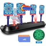 EKOOS Shooting Target for Nerf Electronic Scoring Auto Reset Digital Targets, Ideal Gift Toy for Kids Boys & Girls Shooting Practice for Nerf Targets