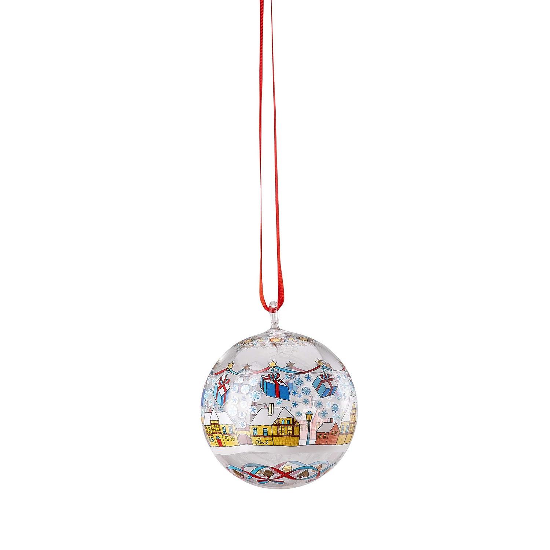 di/ámetro de 6 cm dise/ño navide/ño Bola de Cristal Hutschenreuther Multicolor