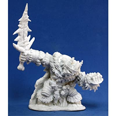 Boerogg Blackrime, Frost Giant (1) Miniature: Toys & Games