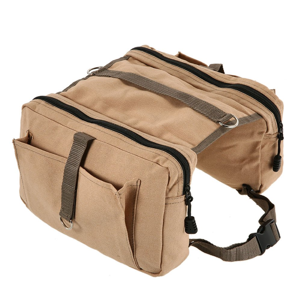 Lixada Hound Travel Camping Hiking Backpack Saddle Bag Rucksack Dog Pack for Medium or Large Dog