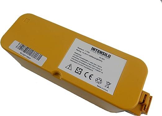 INTENSILO Baterías NiMH 4500mAh (14.4V) para aspiradoras ...