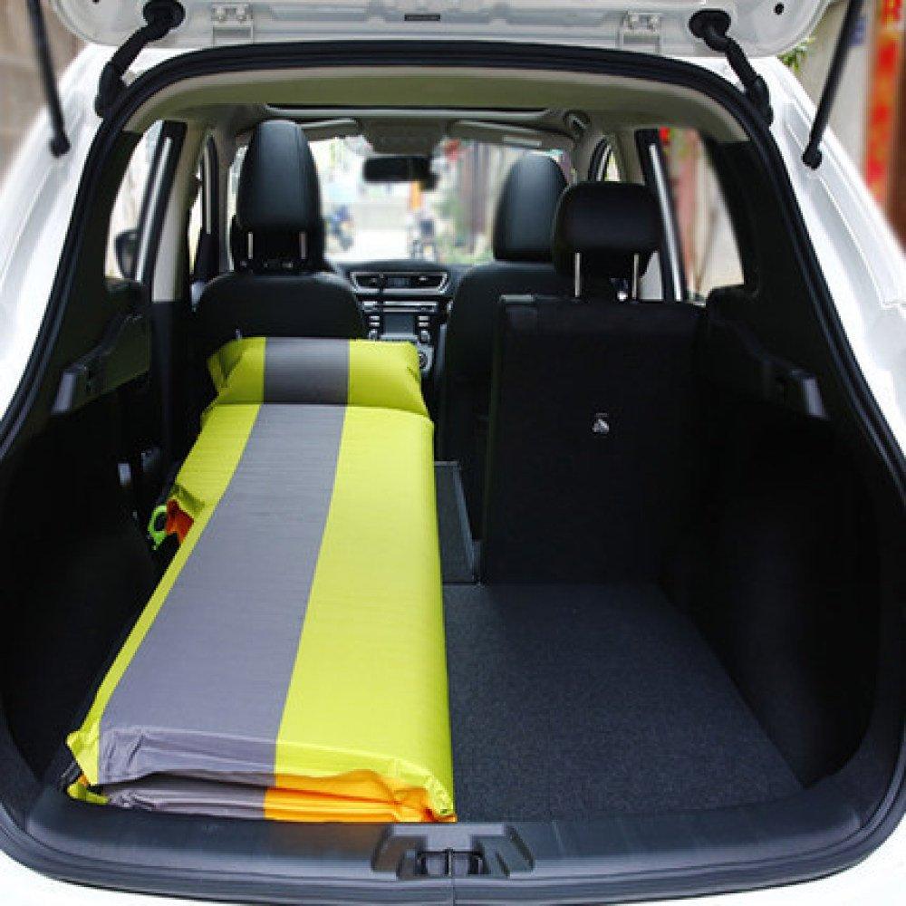 ERHANG Luftbetten Betten Luftmatratzen Aufblasbares Bett Auto Outdoor Bett Outdoor Auto Camping Matte SUV Geländewagen Reisebett,ROTgrau 8a267a