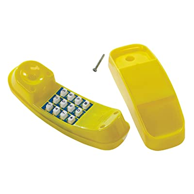 HAPPY PIE PLAY&ADVENTURE Creative Children Plastic Telephone Toy on The Play Deck or Backyard playsets: Toys & Games