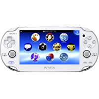PlayStation Vita (PlayStation vita) Wi-Fi model Crystal White (PCH-1000 ZA02)【japan import】