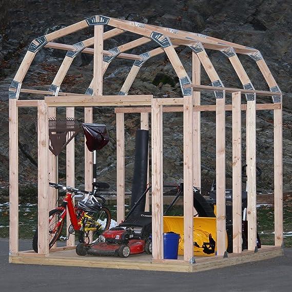 EZ cobertizo 70188 granero estilo Instant Kit de enmarcar: Amazon.es: Jardín