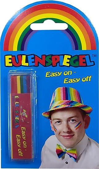 Eulenspiegel 626429 Fun Stick Regenbogen Amazon De Beauty
