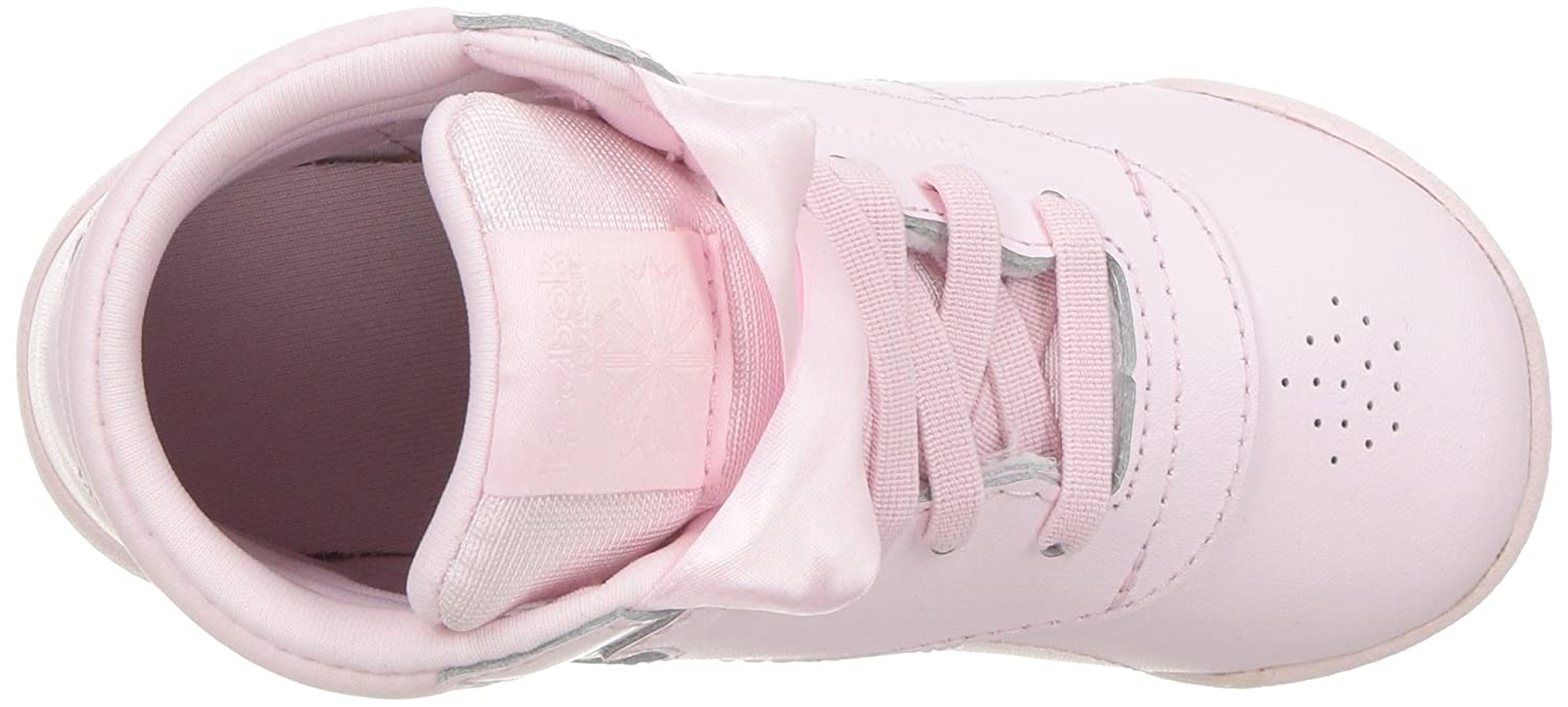 14aa3e5ead076 Reebok Kids' F/S Hi Satin Bow Cross Trainer