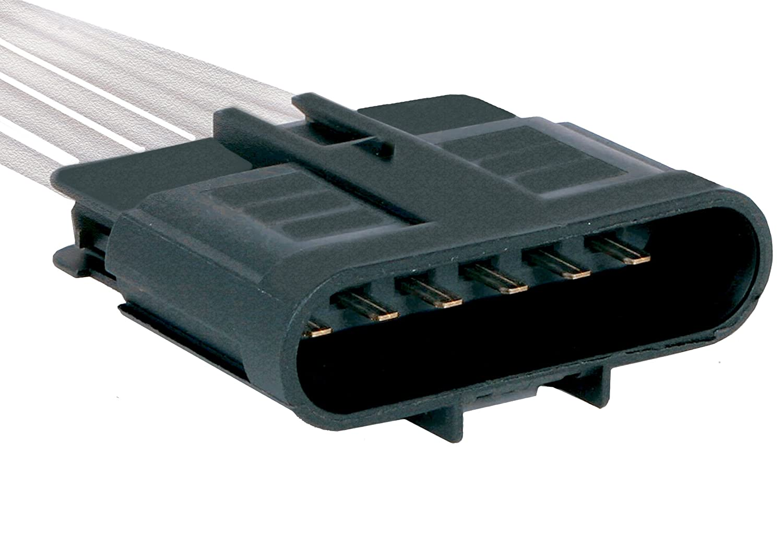 ACDelco PT1556 GM Original Equipment 6-Way Male Black Multi-Purpose Pigtail