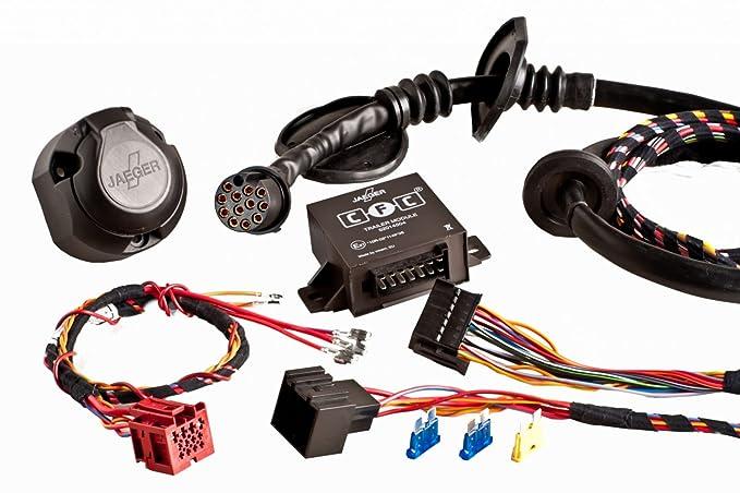 Jaeger Automotive 44150209 Opel Astra H Caravan Remolque extraíble incluye fahrzeugspezifischer eléctrico de 13 pines AHK: Amazon.es: Coche y moto