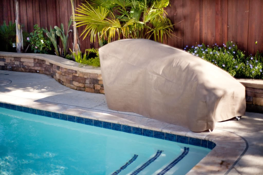 Amazon.com : Duck Covers Elite Patio Chaise Lounge Cover With Inflatable  Airbag To Prevent Pooling, 74 Inch : Garden U0026 Outdoor