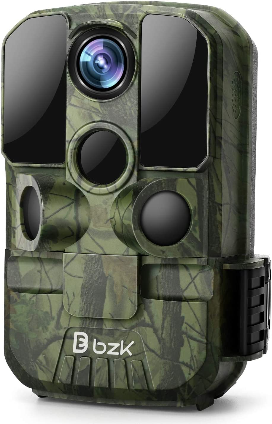 BZK Trail Game Camera - 20MP 1080P HD Waterproof Hunting Cam with Motion Activated Night Vision and 120° Wide Angle Lens for Outdoor Scouting, Wildlife Watching, Farm Monitoring: Electronics