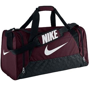 Nike - Bolsa de Deporte Brasilia 6, Unisex, Rojo Oscuro, Extra-Small: Amazon.es: Deportes y aire libre