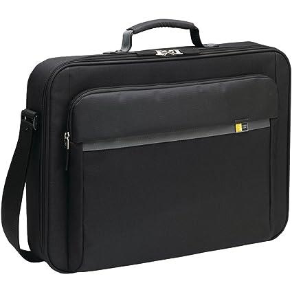 Case Logic - Maletín de nailon para ordenador portátil de 17 pulgadas, con bolsillo para