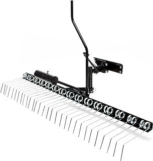 Wiltec Scarificatore per tagliaerba Larghezza di Lavoro 120 cm