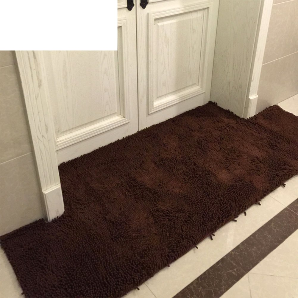 DXG&FX Anti-slip water-absorbent snow nile mat kitchen bathroom door mat-E 140x200cm(55x79inch)