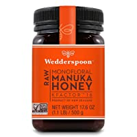 Wedderspoon Raw Premium Manuka Honey KFactor 16+, Unpasteurized, Genuine New Zealand...