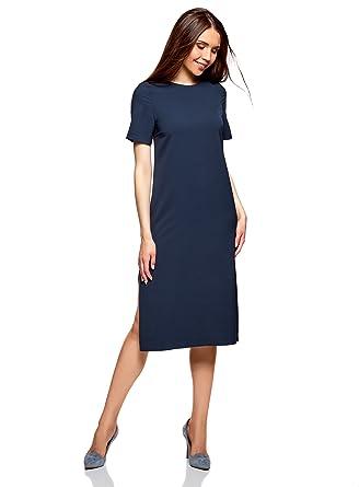 289cc8832625 oodji Collection Femme Robe Ample Mi-Longue  Amazon.fr  Vêtements et  accessoires
