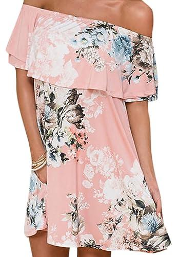 Lewi Brun Camisas - Sin Mangas - para Mujer Rosa S