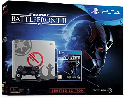 Sony PlayStation 4 Slim STAR WARS: Battlefront II, Grey Console - videoconsolas (Grey Console): Amazon.es: Videojuegos