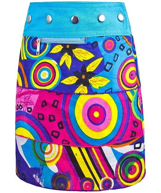 Sunsa Kinder Rock - Falda - para niña Multicolor Multicolor Talla ...