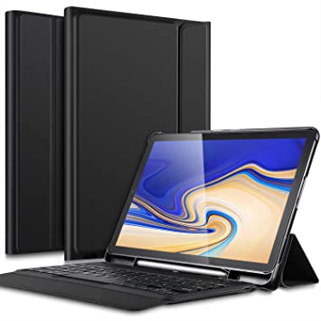 IVSO Teclado Estuche para Samsung Galaxy Tab S4 10.5 SM-T830N/T835N [QWERTY