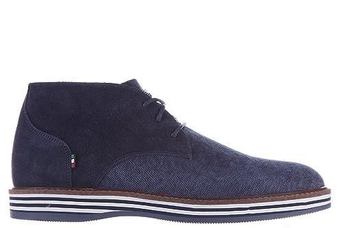 6a8dcdd522 Armani Jeans Polacchine Stivaletti Scarpe Uomo camoscio Blu: Amazon ...
