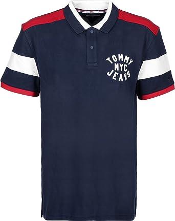 Tommy Jeans Essential Badge Polo: Amazon.es: Ropa y accesorios