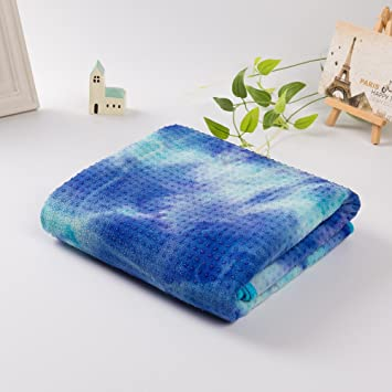 Amazon.com : Sweat Absorption Sport Towel Yoga Blanket ...