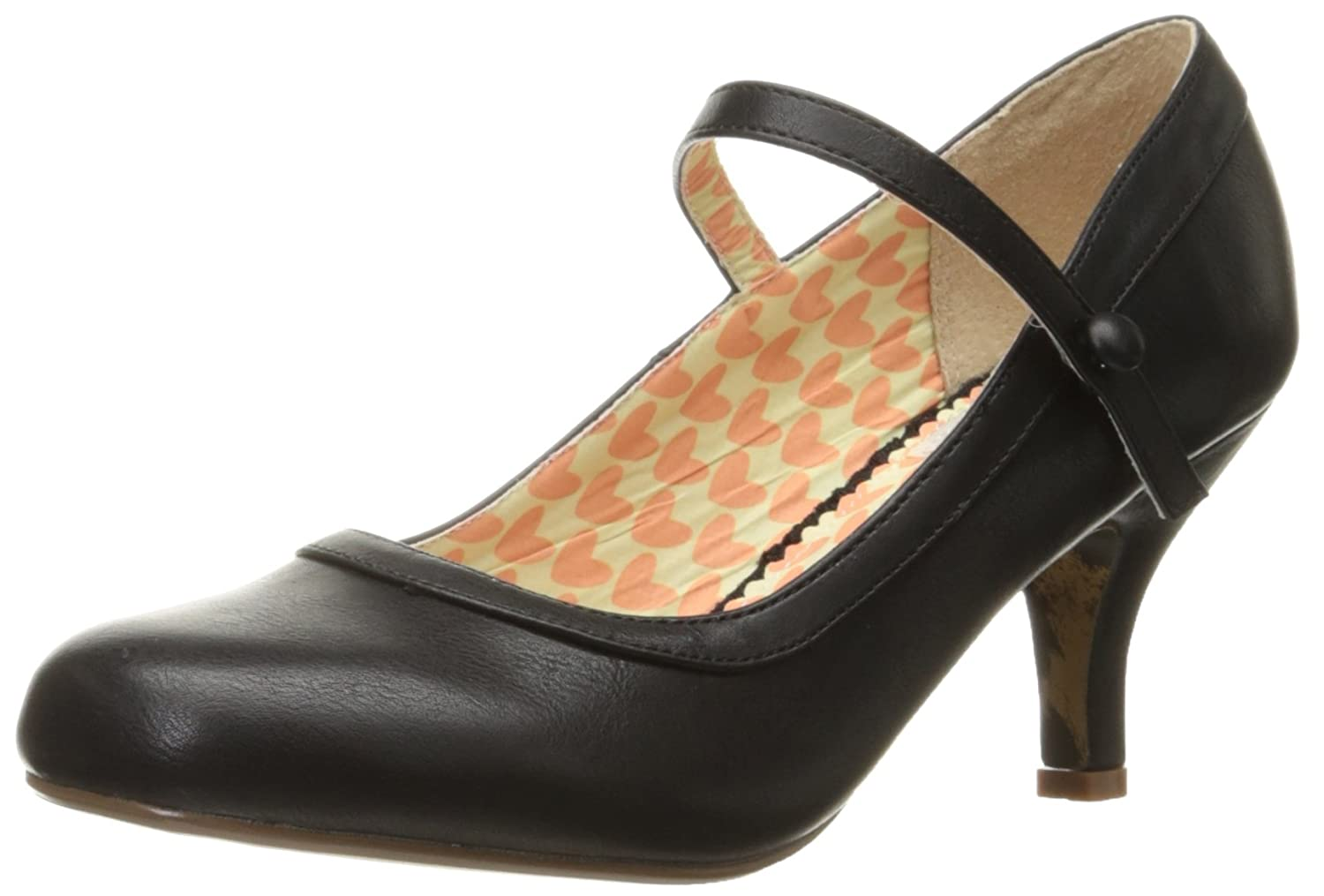 1950s Style Shoes Bettie Page Womens Bp320-Bettie Dress Pump $58.09 AT vintagedancer.com