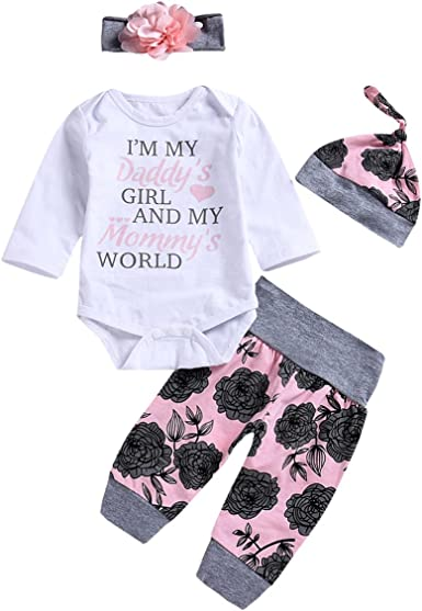 Weant 0-18 Months Baby Outfits Set Stripe Pants With Hat Baby Boy Clothes Newborn Outfits Set Home Pajamas Set Letter Romper Bodysuit