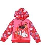 "Elena of Avalor Toddler Little Girls ""Adventure Awaits!"" Zip Hoodie Sweater Jacket"