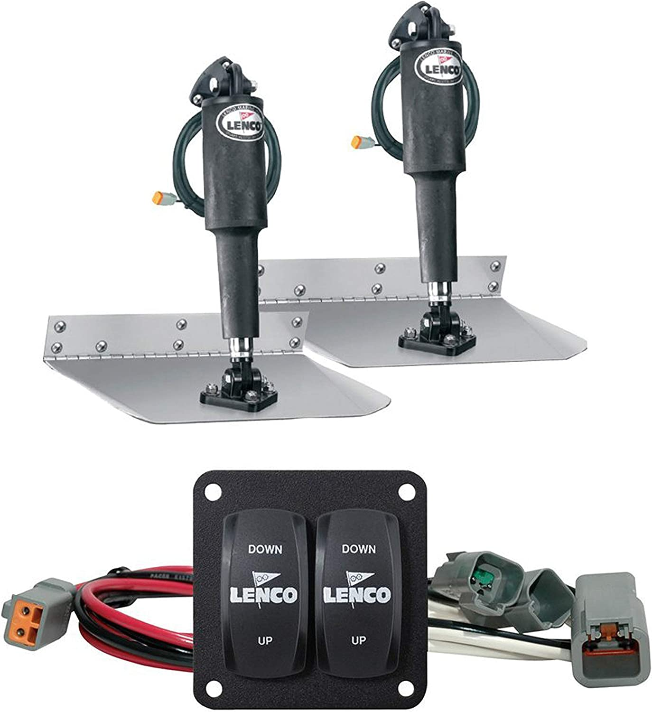 "Lenco Marine Inc 15101-104 9"" x 12"" Standard Trim Tab Kit: Automotive"