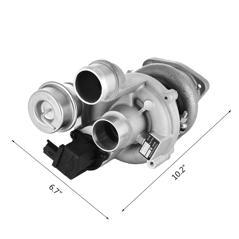 mophorn K03 turbocompresor turbo ajuste para BMW Mini cooper-s R55 R56 R57 R58 R59 ep6cdts N14 1.6L Motor de repuesto cargador de Turbo: Amazon.es: Coche y ...