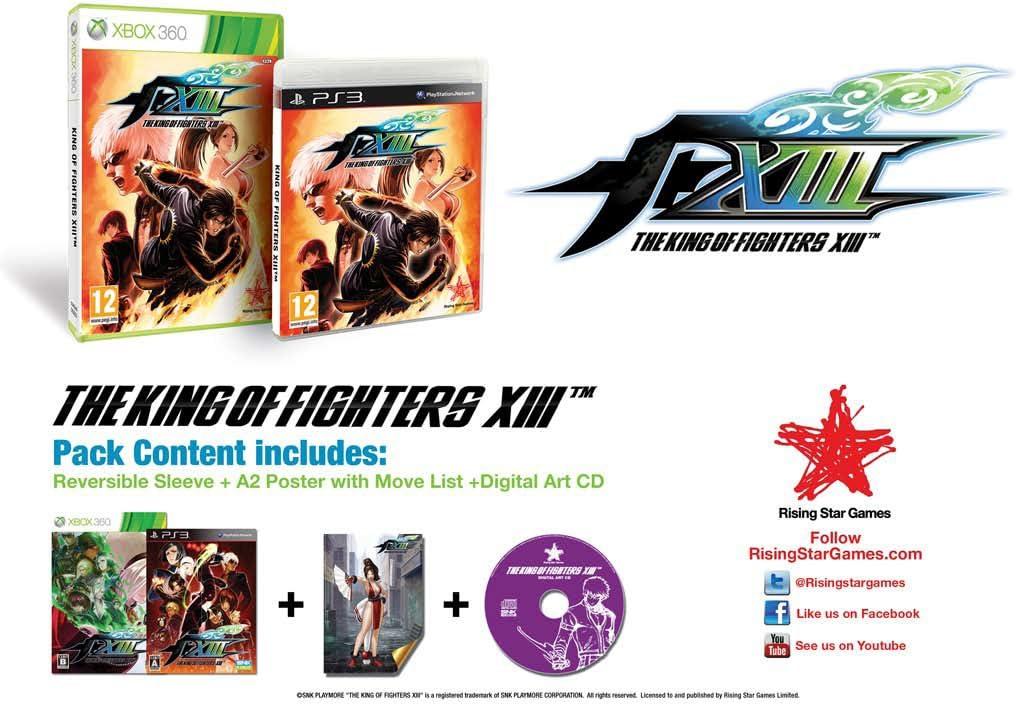 King of Fighters XIII (PS3) [Importación inglesa]: Amazon.es ...