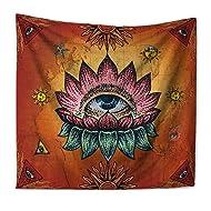 3c21237c470 QEES Zen Tapestry Wall Hanging Small Chakra Tapestry Mandala Design  Meditation Yoga Decor Psychedelic Wall Hanging