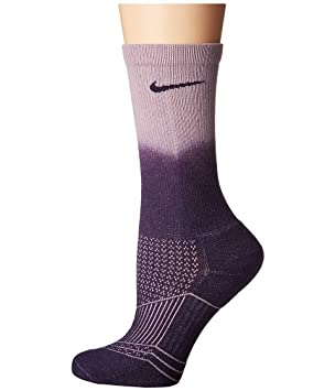 Nike 3Ppk WomenS Dri Fit Cushion F Calcetines, Mujer, Morado (Purple Dynasty/