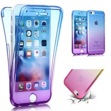 Transparent Coque Pour IPhone 6 Plus TPU Silicone Etui Coque De ...
