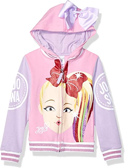 New Jojo Siwa Kids Girls Clothes Hoodies Sweatshirt Hoodie Top Coat Xmas Gift UK