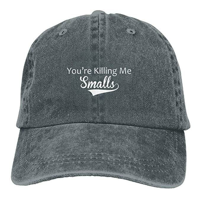 006df70cdf5 Image Unavailable. Image not available for. Color  Retro Unique You re  Killing Me Smalls Adult Baseball Caps Sports Trucker Climbing Hats