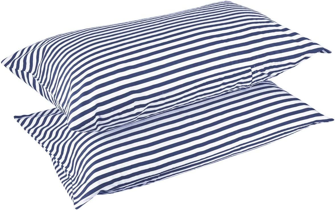 Red rockcloud Pillow Case Set 400 Thread Count 100/% Cotton Standard Size 2pc