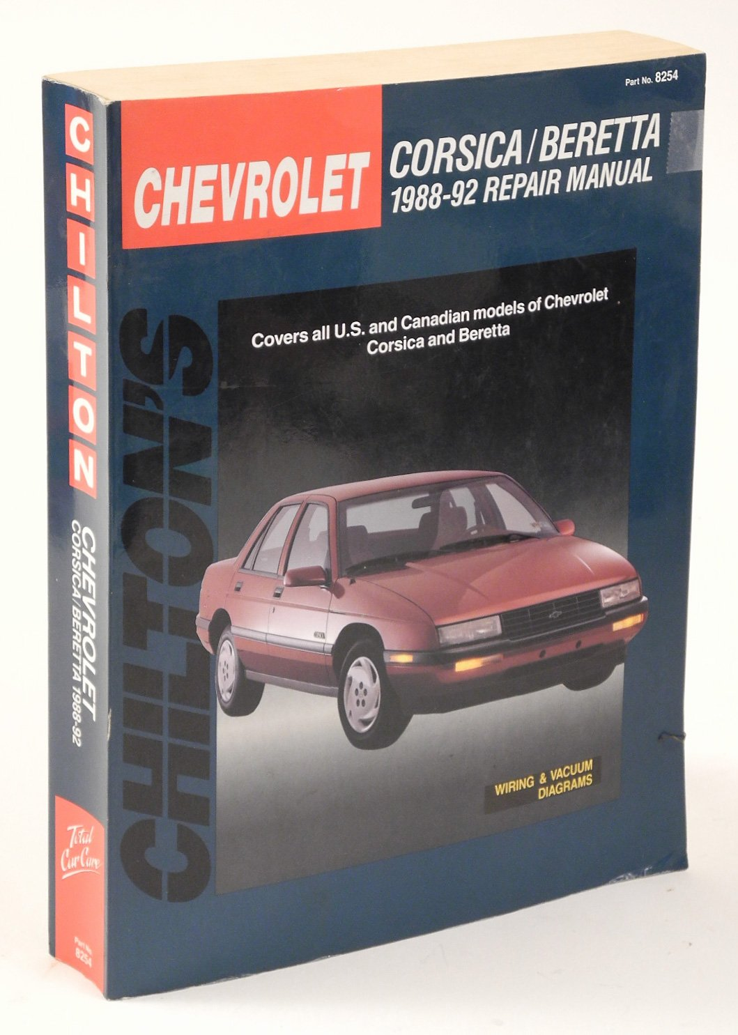 chilton's chevrolet: corsica/beretta : 1988-92 repair manual/covers all  u s  and canadian models of chevrolet corsica and beretta paperback – june,  1992