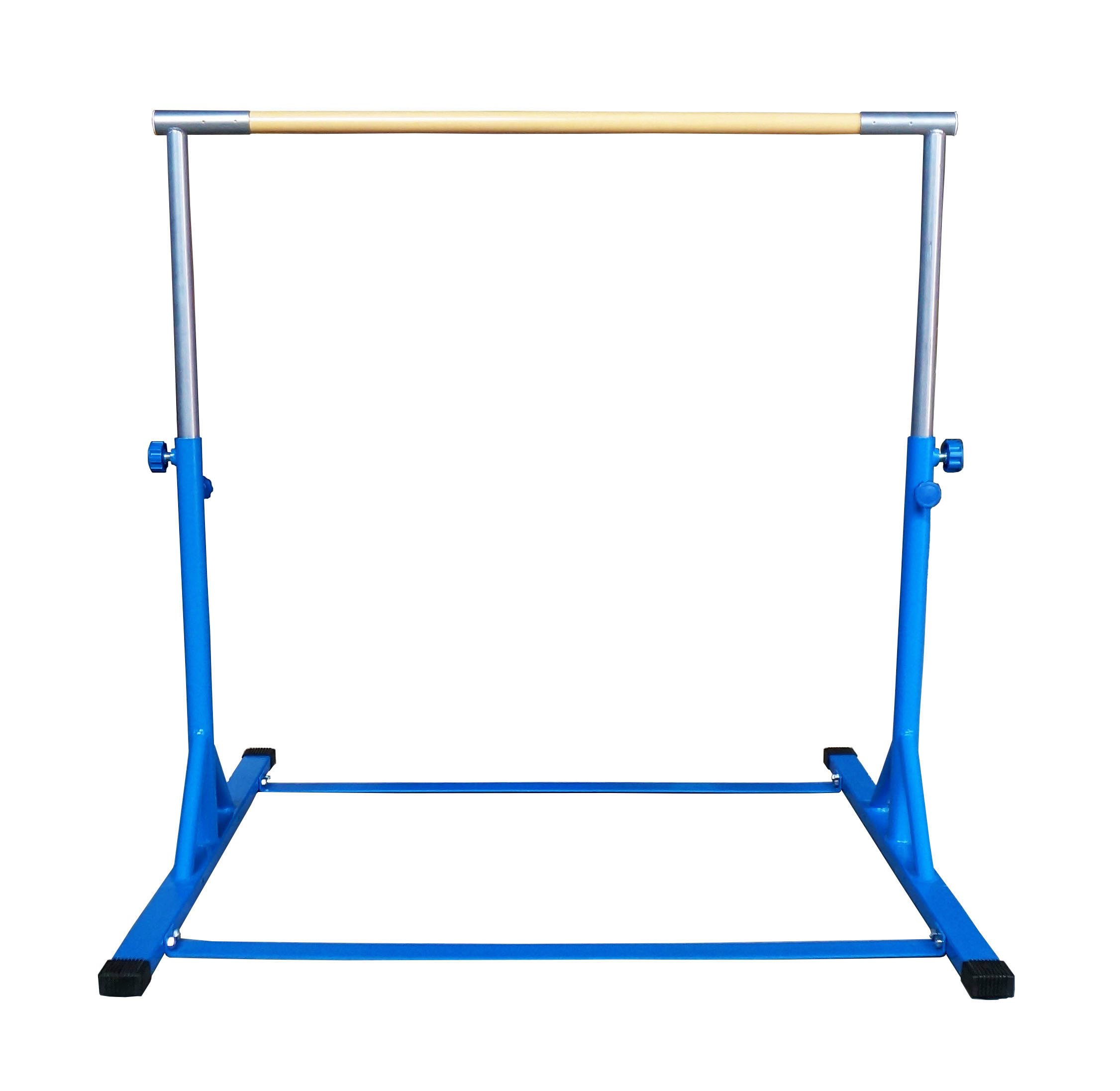 Z-Athletic Gymnastics Expandable Kip Bar (Blue)