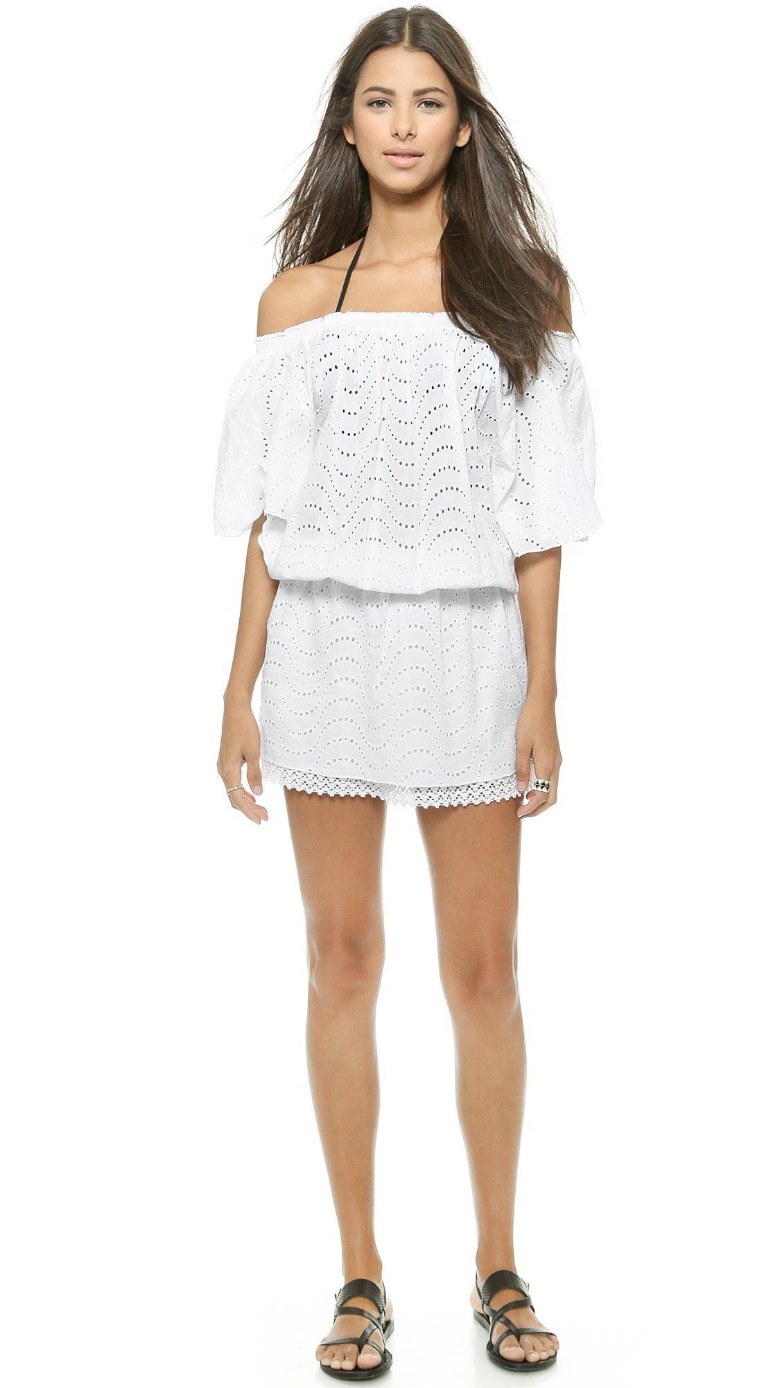 Melissa Odabash Women's Michea Cover Up Dress, White, Small by Melissa Odabash (Image #2)