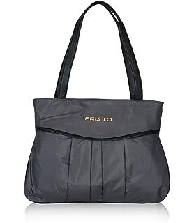 Fristo Grey and Black women handbag (FRB-023)(Gray and Black)
