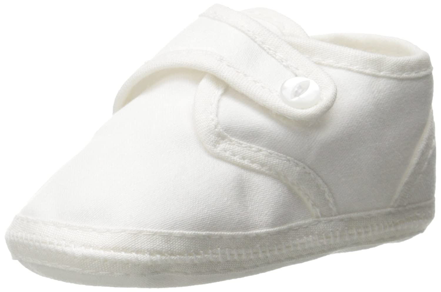 Boys Cotton Sateen Christening Baptism Shoe