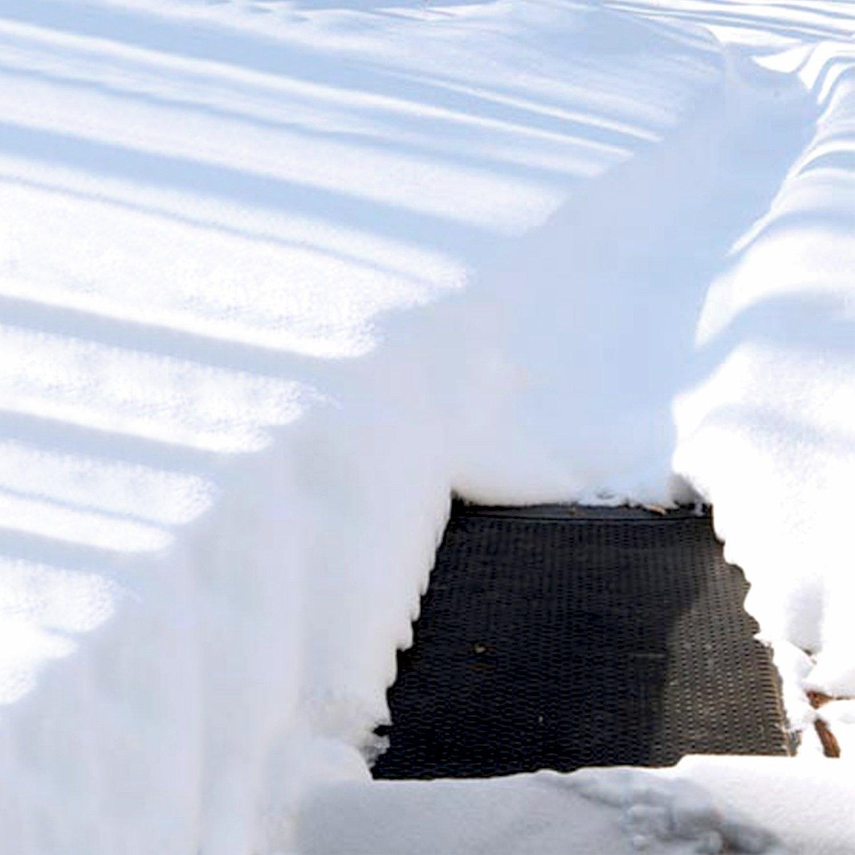amazon com cozy products ice snow ice away heated snow melting mat